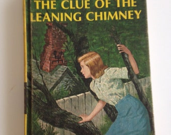 Vintage 1960's Nancy Drew / The Clue of the Leaning Chimney