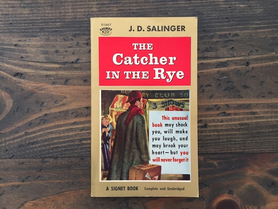 holdens depression by j d salinger essay When i first read jd salinger's the catcher in the rye during my late teens,  of overall sexual frustration and anxiety fueled by depression and loneliness.