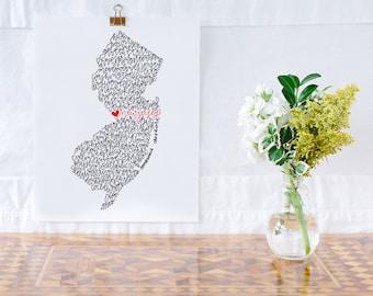 New Jersey Illustration