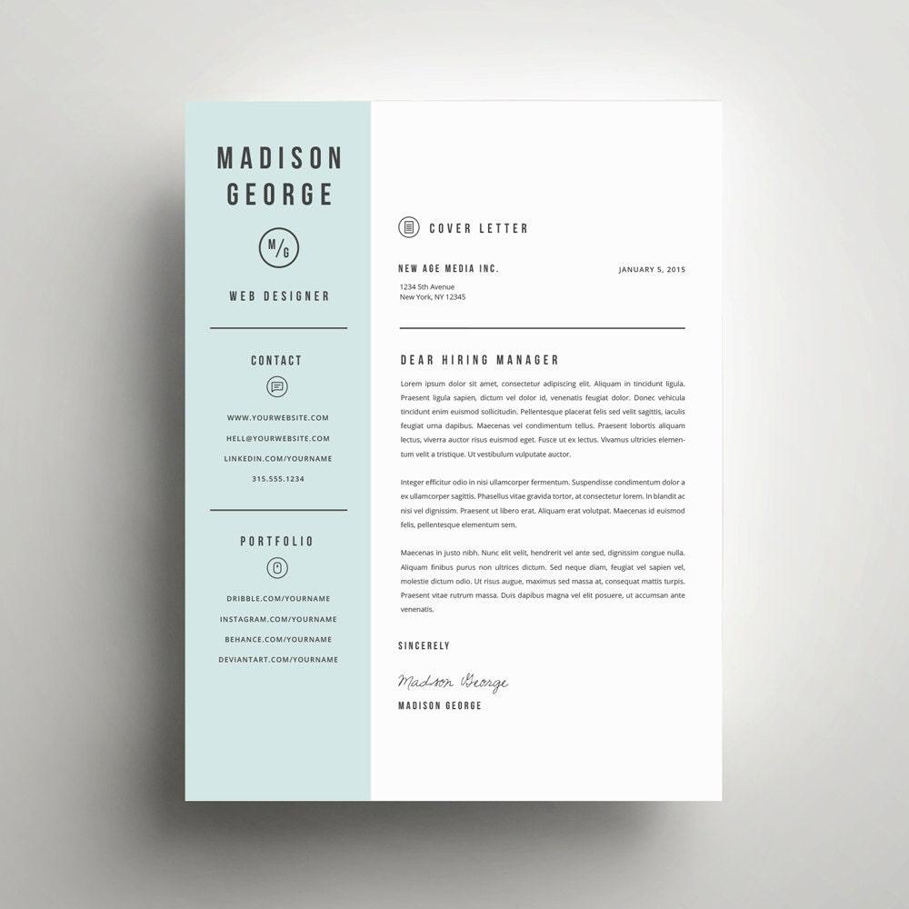 lettre de motivation et mod u00e8le de cv moderne pour mot