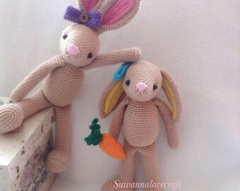 Sweet bunny crochet pattern