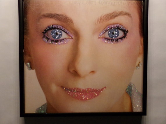 Glittered Record Album - Judy Collins - Running For My Life