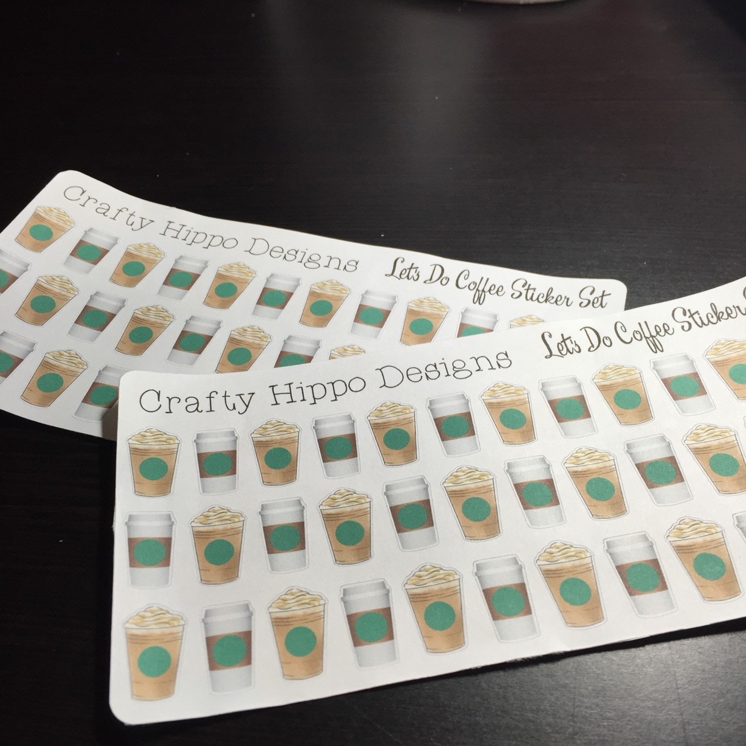Let S Do Coffee Planner Stickers From Craftyhippodesigns