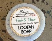 Fresh & Clean Loofah Soap