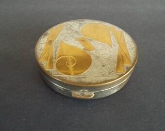 Vintage Mirror Compact