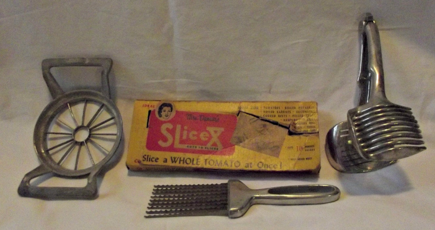 Kitchen Utensils Cutting Slicing Tools By RusticRecovery101