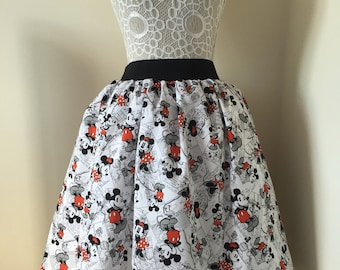 Micky & Minnie full skirt