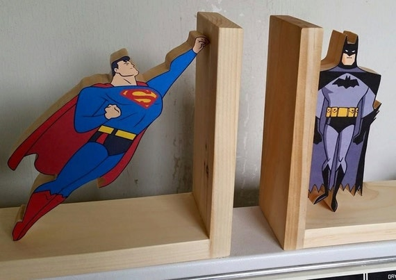 Items Similar To Bookends Bookend Super Hero Book