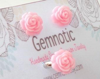 Flower girl gift, flower girl jewelry, flower girl gift set, flower girl ring,flower girl earrings,kids jewelry, girls jewelry