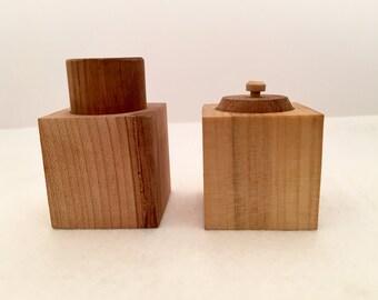 Montessori Palmer Grasp Cylinder & Montessori Pincer Grasp Cylinder