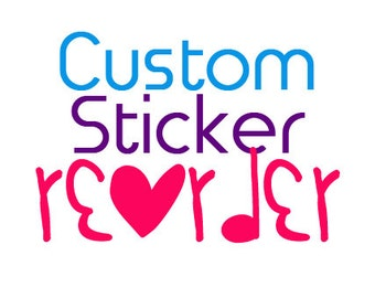 REORDER for LI Creations