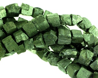 Small Raw Pyrite Cubes, Raw Pyrite Cubes, Raw Pyrite, Pyrite Cubes, Pyrite Beads.