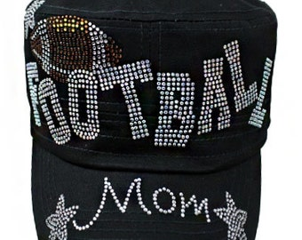 Black Football Mom Cap