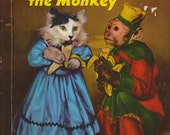 Scalawag the Monkey Book! Vintage 1953!  A Rand McNally Book-Elf Book!