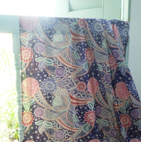 Malaysian Indonesian Batik Sarong In 100 Cotton Stylish