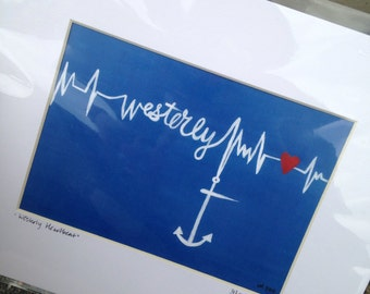 Westerly Heartbeat Print
