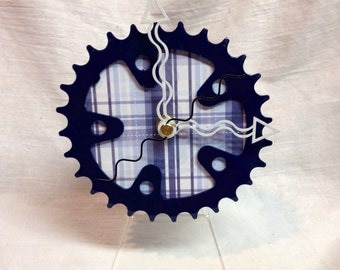 Bicycle Chainring Desk Clock
