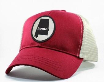 Homeland Tees Alabama Home State Trucker Hat