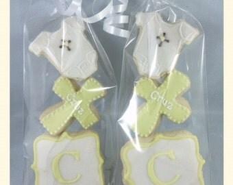 2 Dozen Baptism Sugar Cookies