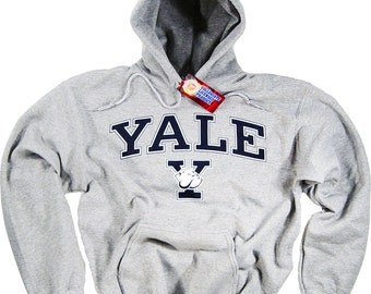 Yale Hoodie Sweat Shirt Bulldogs College University Apparel Officially Licensed By The NCAA