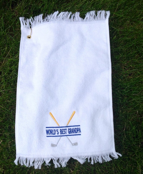 Items Similar To GOLF TOWEl On Etsy