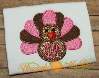 Thanksgiving Turkey Applique Shirt, Thanksgiving Shirt, Girls Thanksgiving Shirt, Boys Thanksgiving Shirt, Turkey Shirt, Fall Holiday Shirt