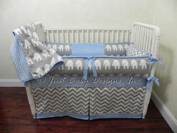 Custom Baby Bedding Crib Set Donovan Boy Baby Bedding