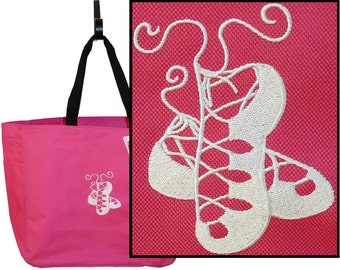 Ghillies Tote Bag Irish Dance Shoes  + Free Name