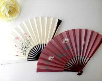 Japanese Fan, Asian Decor, Folding Fan