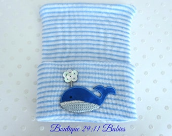 Last One..Whale Newborn Hospital Hat -baby whale hat-newborn whale hat-infant whale hat