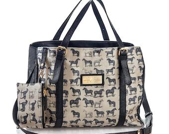 Black leather bag, cross body bag , Women handbag ,messenger bag