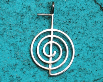 Cho Ku Rei  pendant (1,38 x 0,87) Stainless Steel
