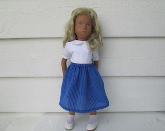 "Skirt for Sasha doll clothing-Sasha doll outfit-dolls outfit -Sasha doll dresses-Doll Clothes  puppenkleider 16"" Ready to ship"