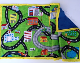Travel Activity Blanket - Two Sizes Available