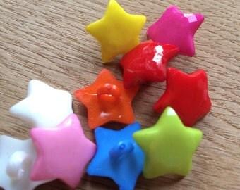 10 Star Buttons