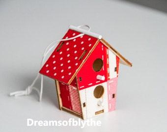 Bird house for blythe