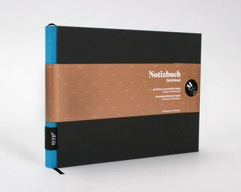 tyyp BerlinBook Sketchbook M - Black