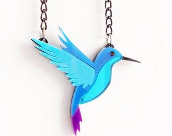 Hummingbird neckace