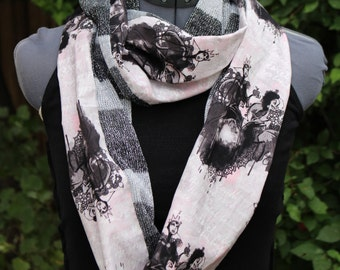 NEW!! Disney Villain Couture Limited Edition Infinity Scarf