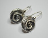 Earrings 'silver wave'