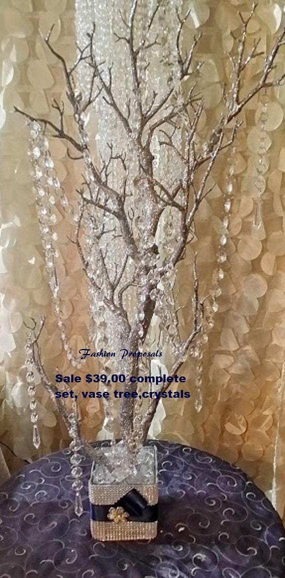 Wedding Centerpieces Bling Manzanita Tree By FashionProposals
