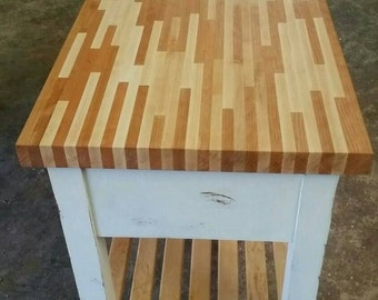 Butcher Block/ Kitchen Island