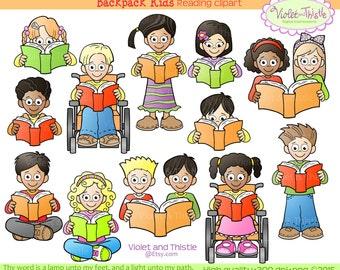 Kids Reading Clipart Kids Clip Art Children Reading School Clip art School Kids Clipart Teacher Clipart School Clipart Printable kids