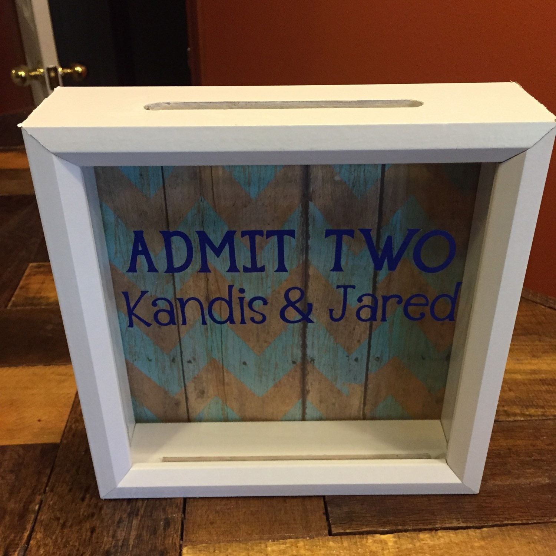 Admit Two Ticket Stub Box 8x8 Girlfriend By