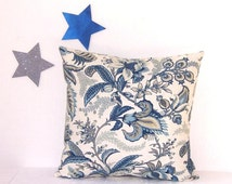 Popular Items For Blue Beige Pillows On Etsy