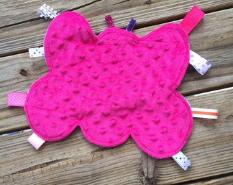 Butterfly Ribbon Tag Blanket