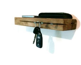 Key Rack Reclaimed Wood