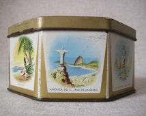 Souvenir tin of the 1958 Brussels World's Fair