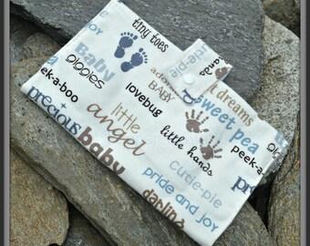 Baby Words Diaper Wallet