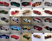 Hot Wheels Sports Car Keychains - Chevy Nova, Ford Mustang, Dodge Challenger, Lamborghini, Corvette, Camaro, Evo, etc - Matchbox